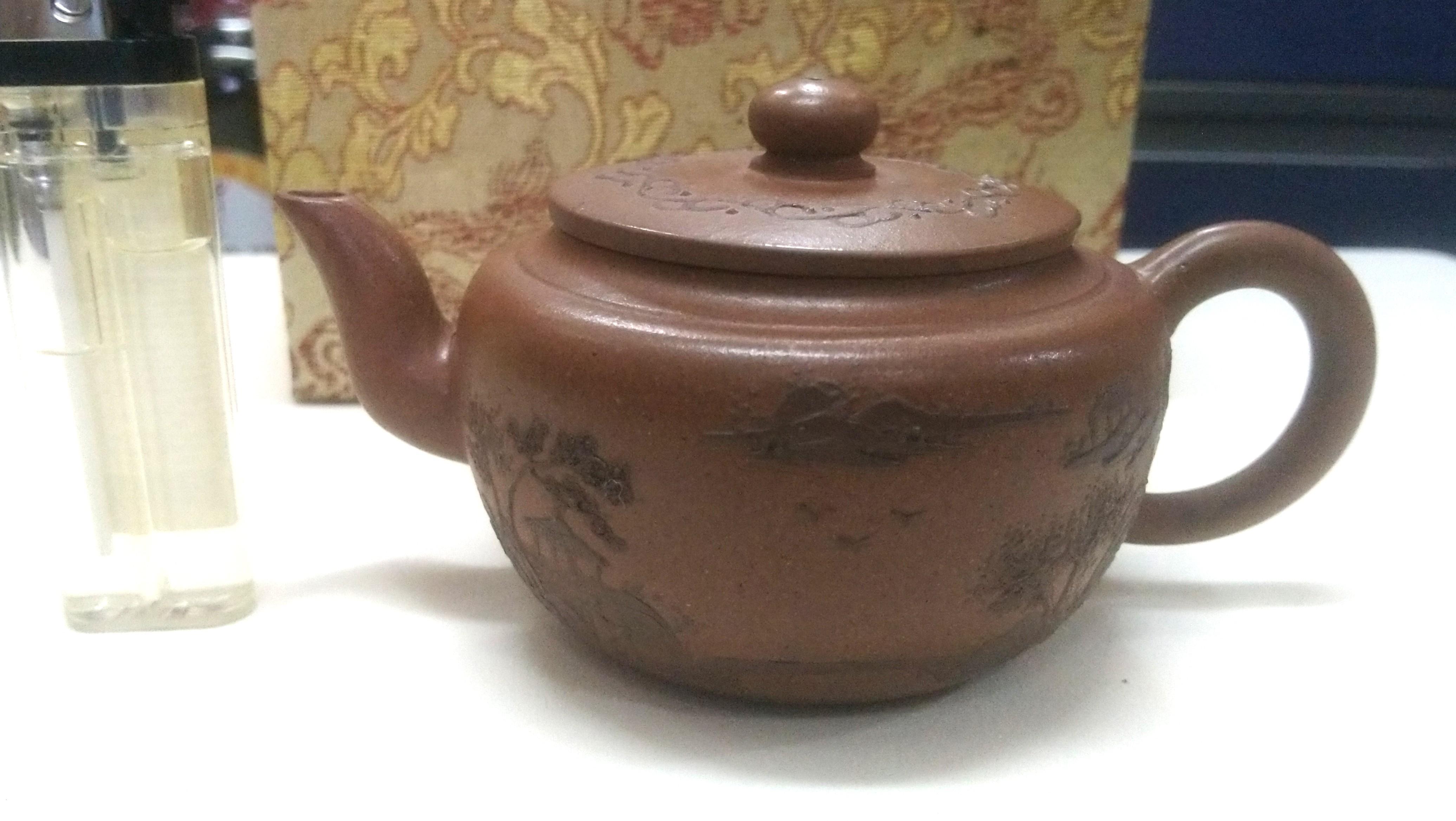 60年紅紫砂茶壺
