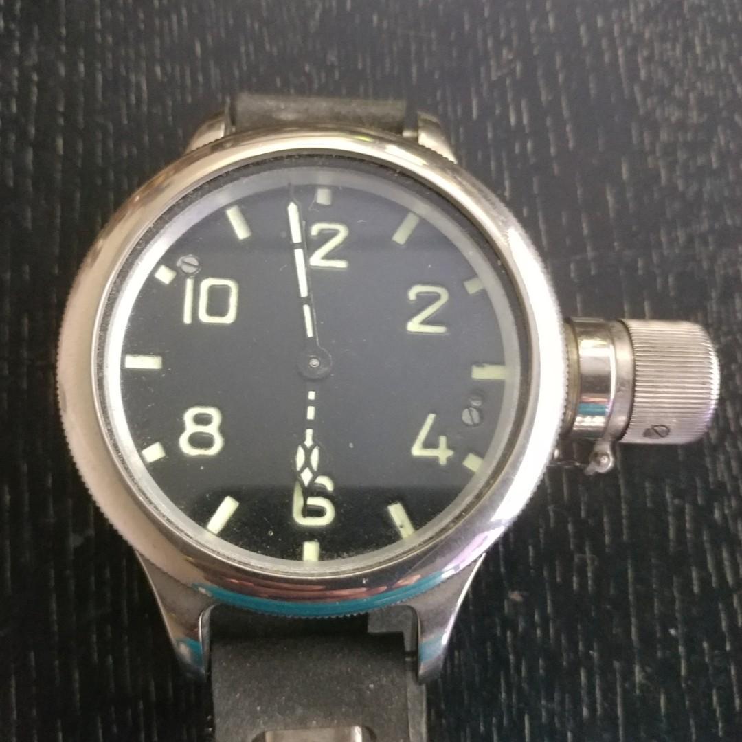 78mm 原裝俄羅斯潛水軍錶