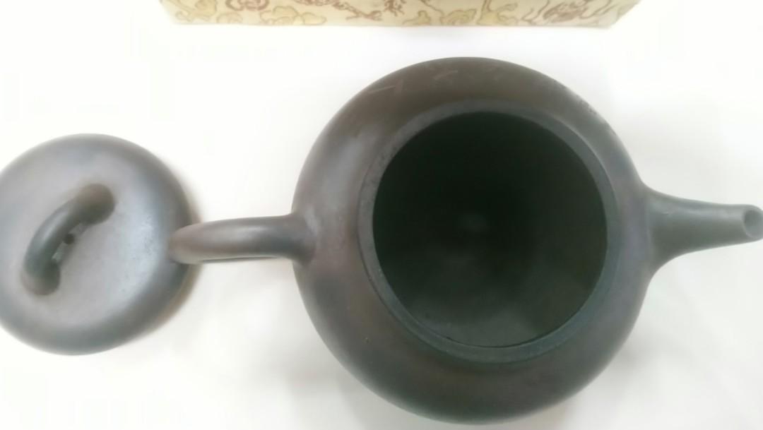 90年代柴燒绞泥茶壺
