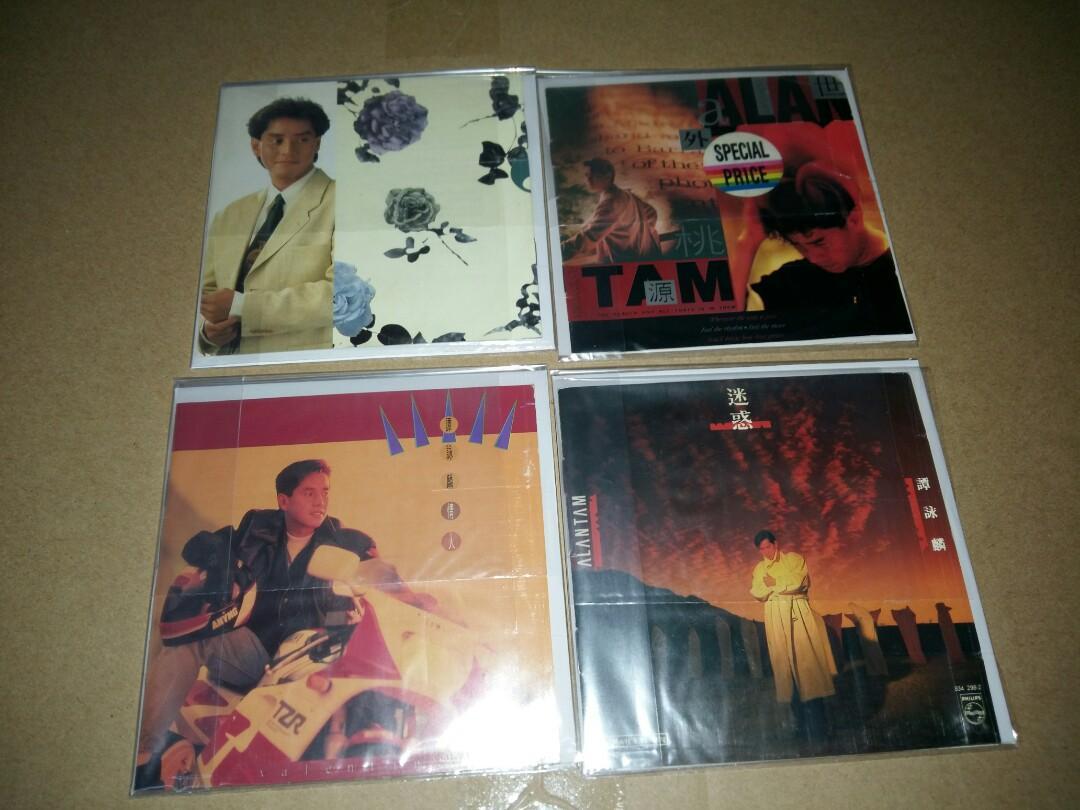 中古大量譚詠麟CD