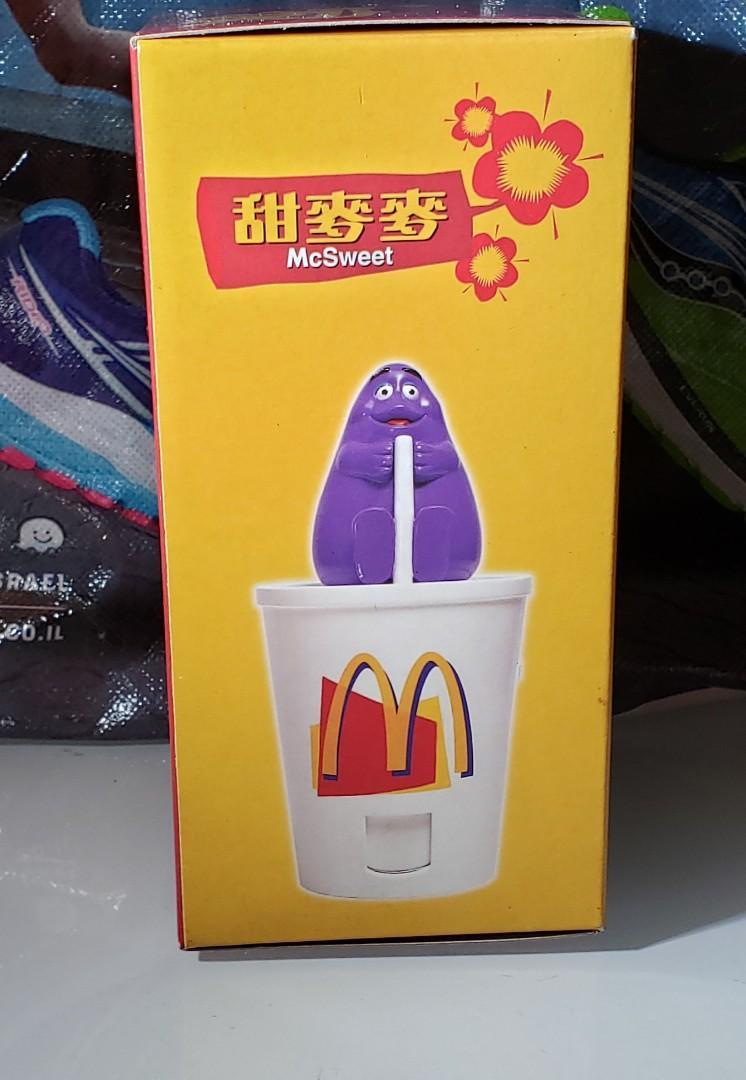 麥當勞 甜麥麥 玩具擺設 滑嘟嘟