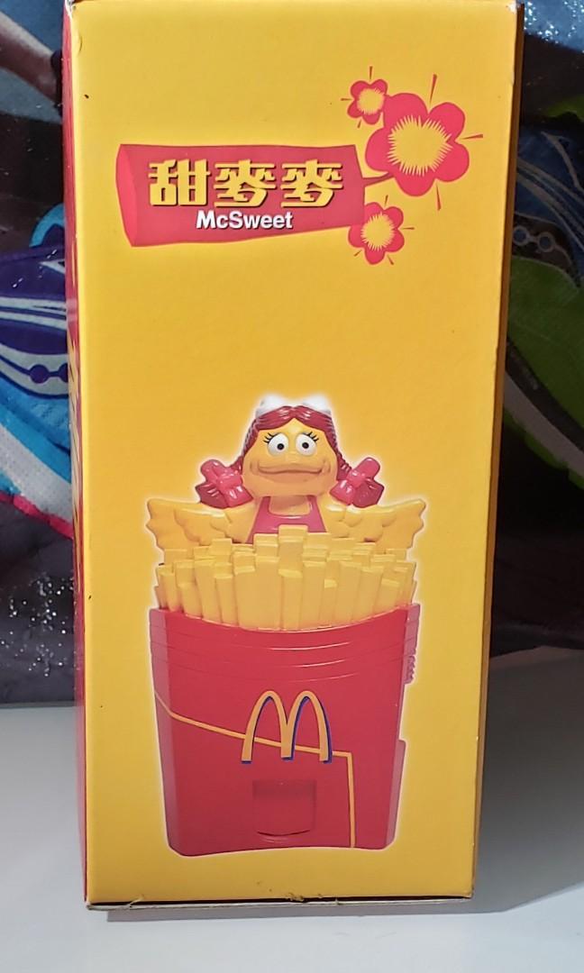 麥當勞 甜麥麥 玩具擺設  小飛飛