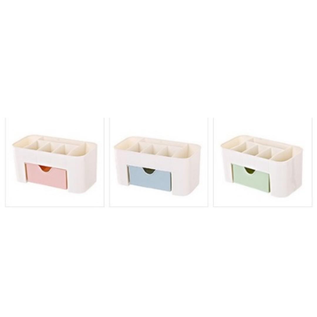 ❤️全新現貨馬上出❤️ 化妝品收納 桌上收納盒 收納盒 保養品收納 置物盒 抽屉置物架 抽屜收納盒