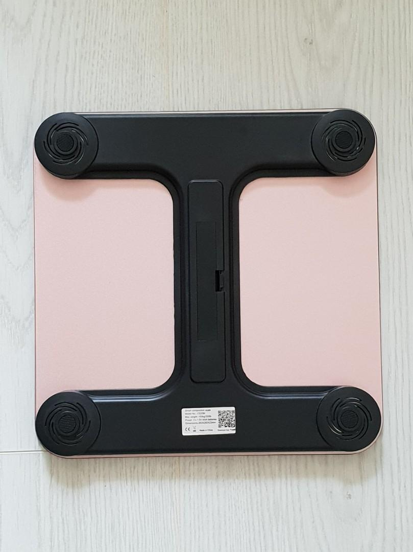 Bluetooth Smart Scale with App Support CS20M (Pink Only)