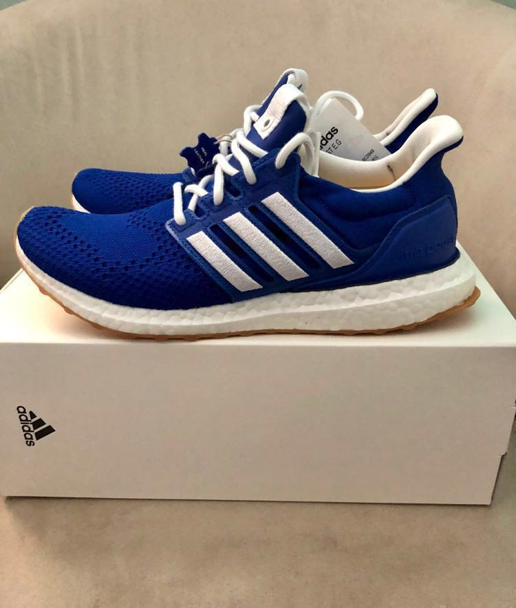 5447c17ae ADIDAS CONSORTIUM X ENGINEERED GARMENTS ULTRA BOOST 1.0 blue ted   wonder  glow   blue bird ( men s sneaker   shoe) Size   UK 8.5  US 9.0 Would fit  well with ...