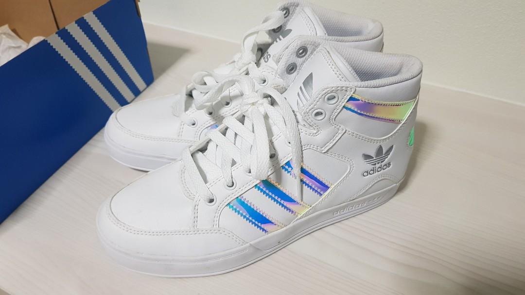 Adidas High-Cut Shoe (Iridescent