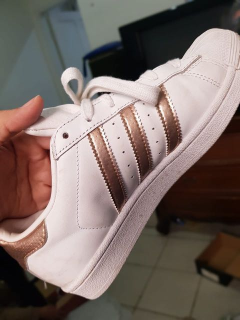 huge discount 5310c 0af0c Adidas superstar bronze