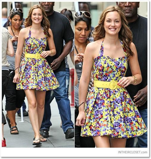 Alice & Olivia Floral Dress as seen on Blair Waldorf in Gossip Girl size 4