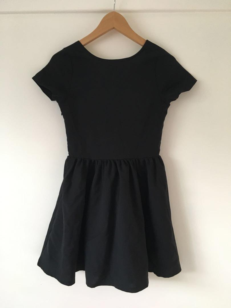 Angel Biba Princess Polly black mini dress size 8 #swapau
