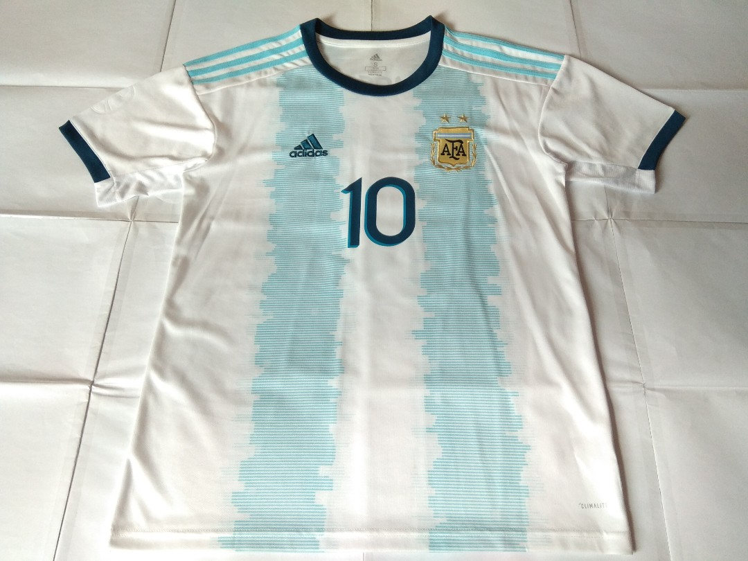 d4e966504 Authentic Never Been Worn Argentina Adidas 2019 Home Football Jersey ...