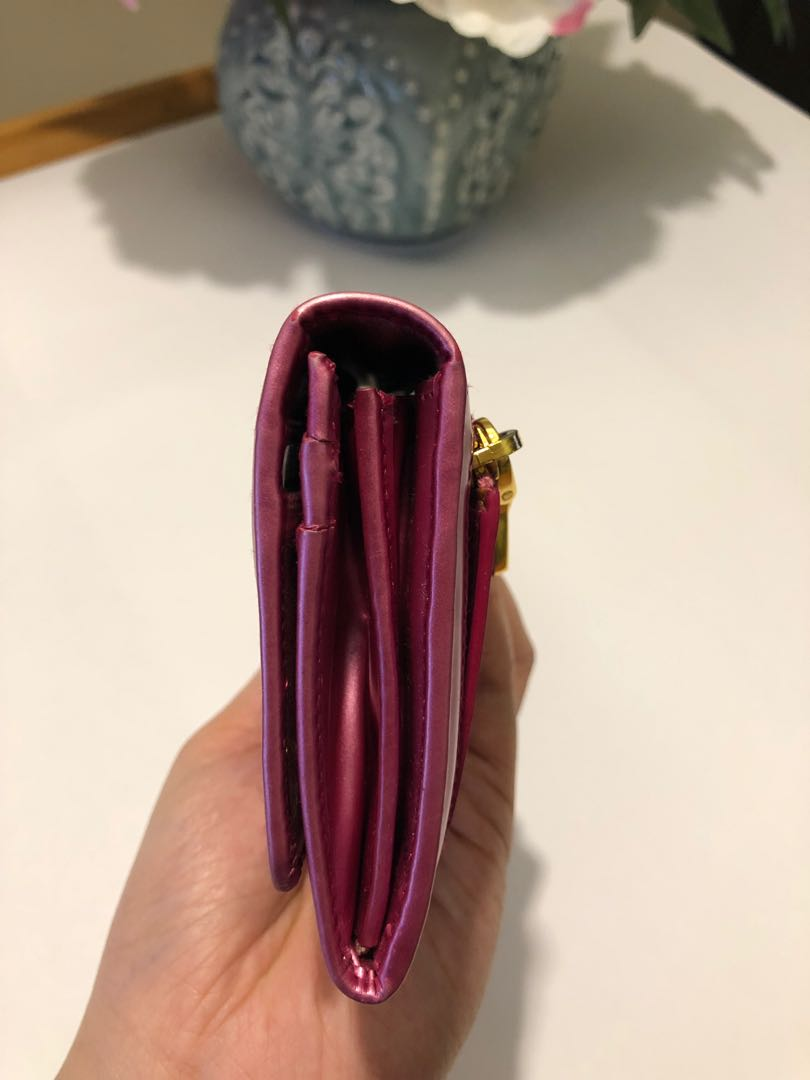 Authentic Pink Prada Wallet
