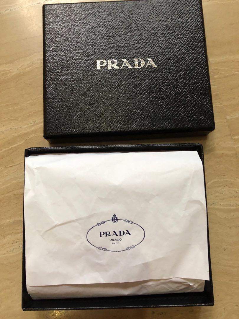 4dbe26297f Authentic Prada Compact Wallet