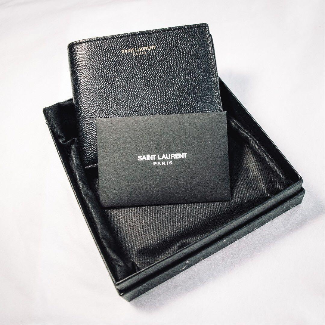 17618a3028 Authentic YSL/Saint Laurent Wallet for Men (Used less than 6 Months ...