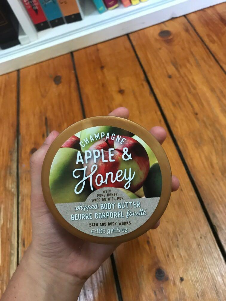 Bath and Body Works, Champagne Apple and Honey Body Butter