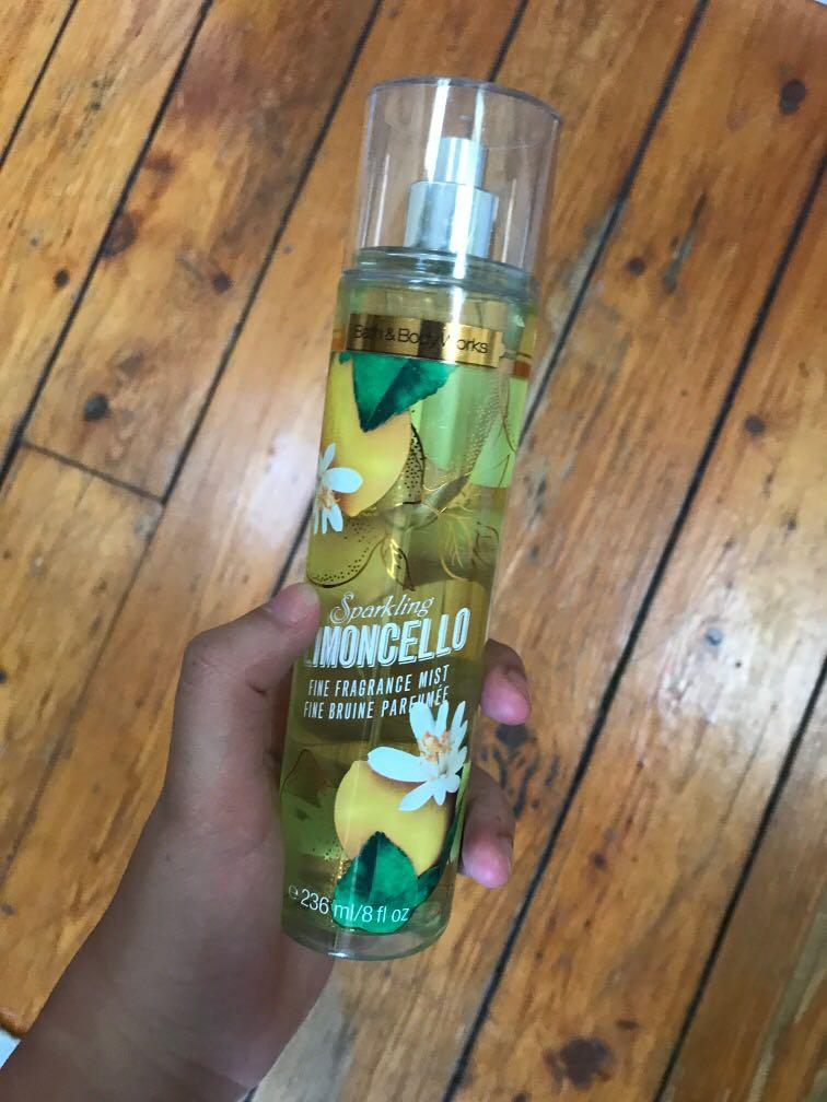 Bath and Body Works Sparkling Limoncello Fragrance Mist