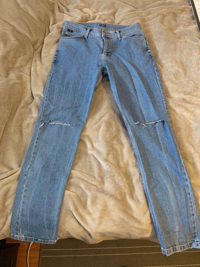 BDG ripped light jeans