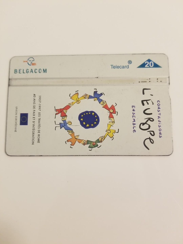Belgium phonecard: European Union