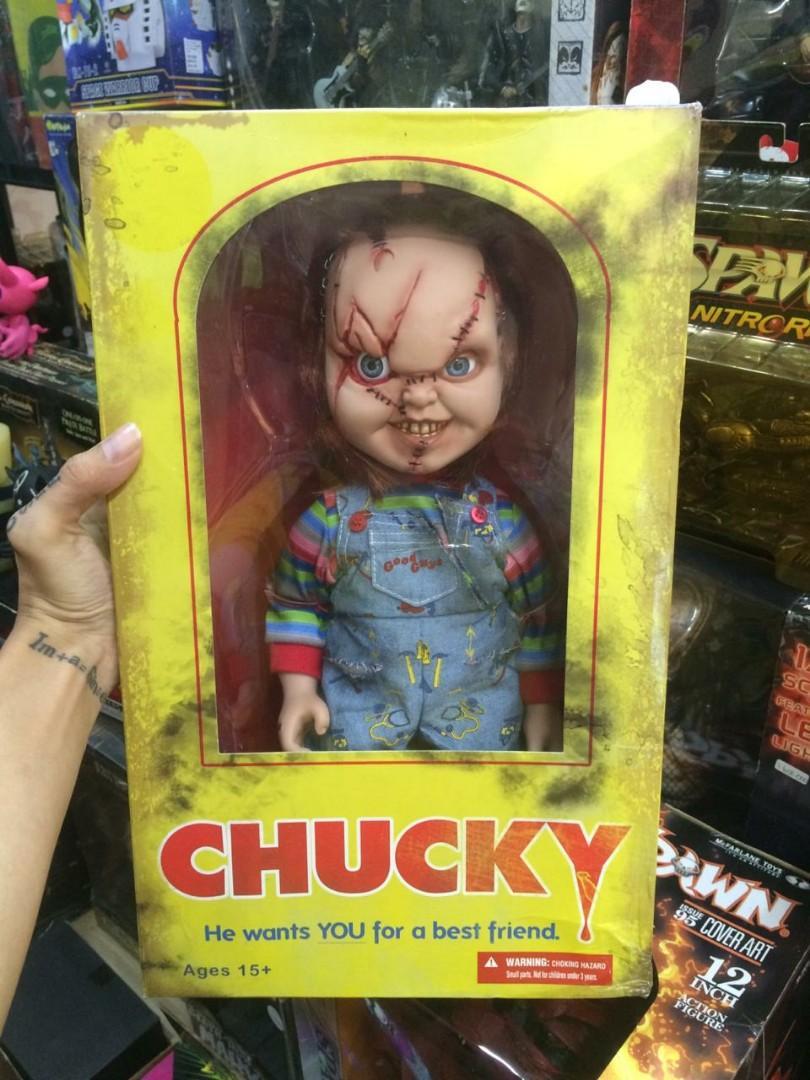 Boneka chucky ori mezco
