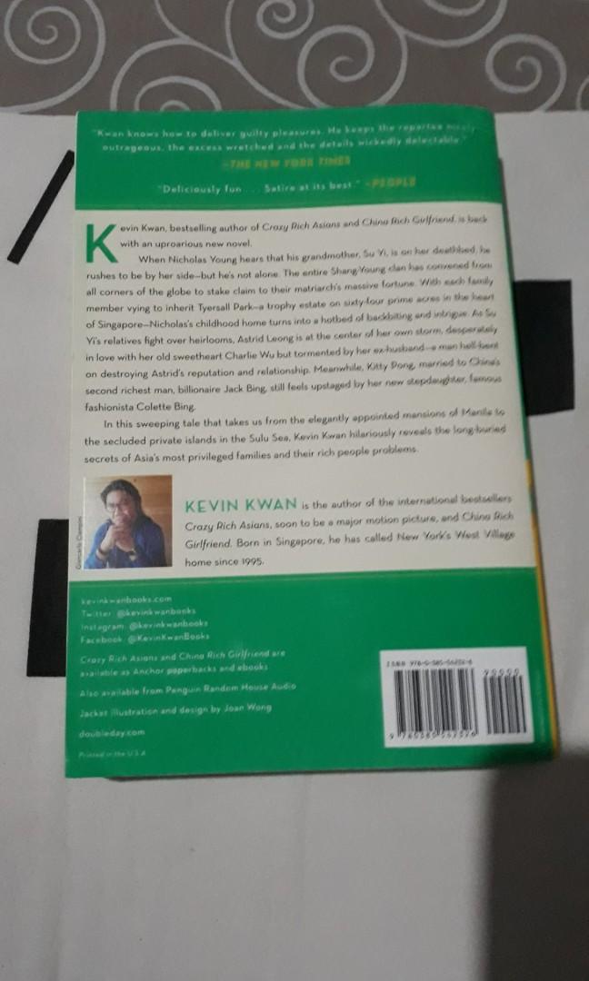 Kevin kwan - Rich people problems preloved english