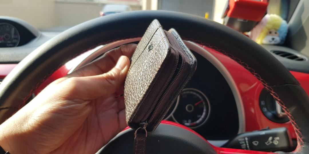 Braun Buffel Leather Coin Pouch