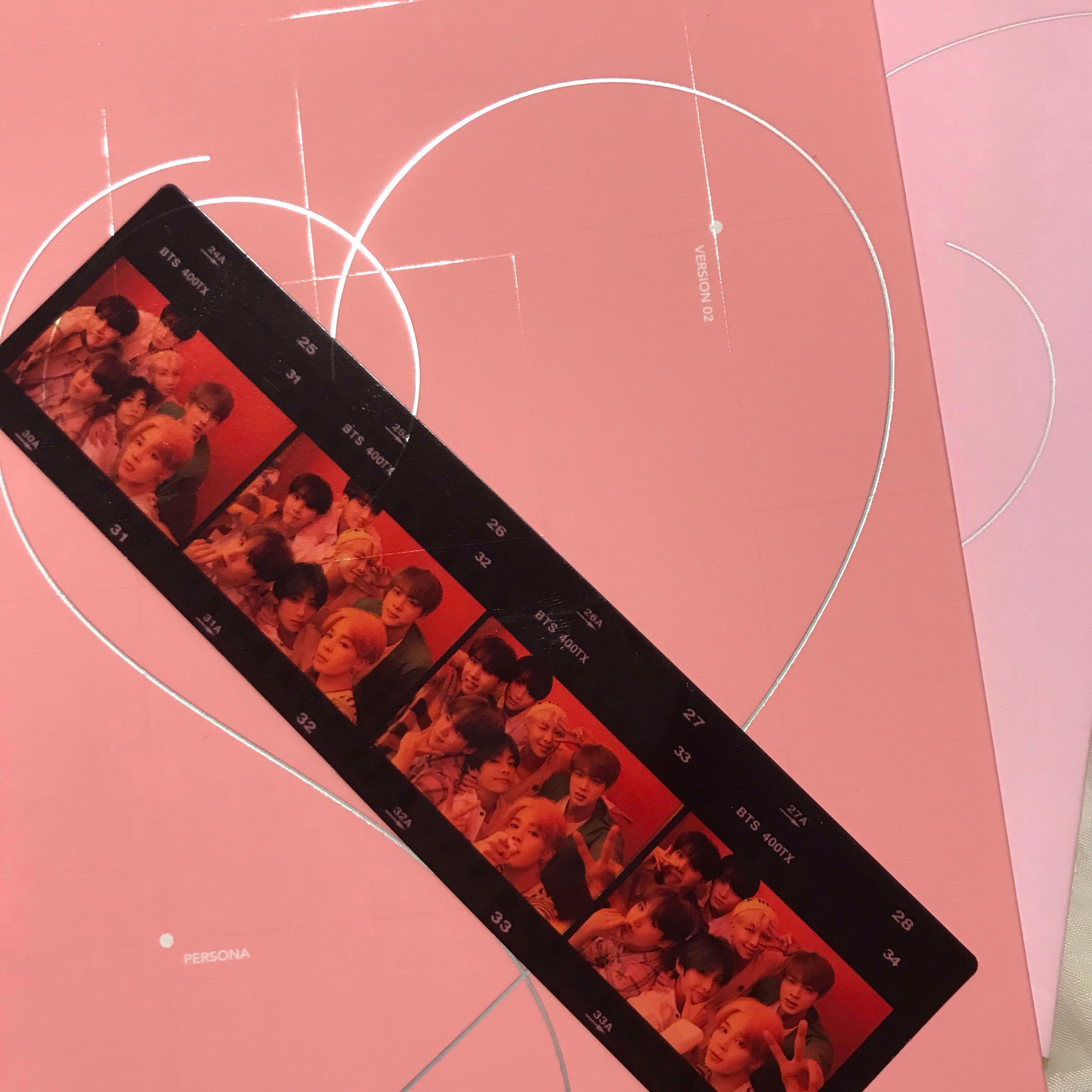 BTS PERSONA Film Strip