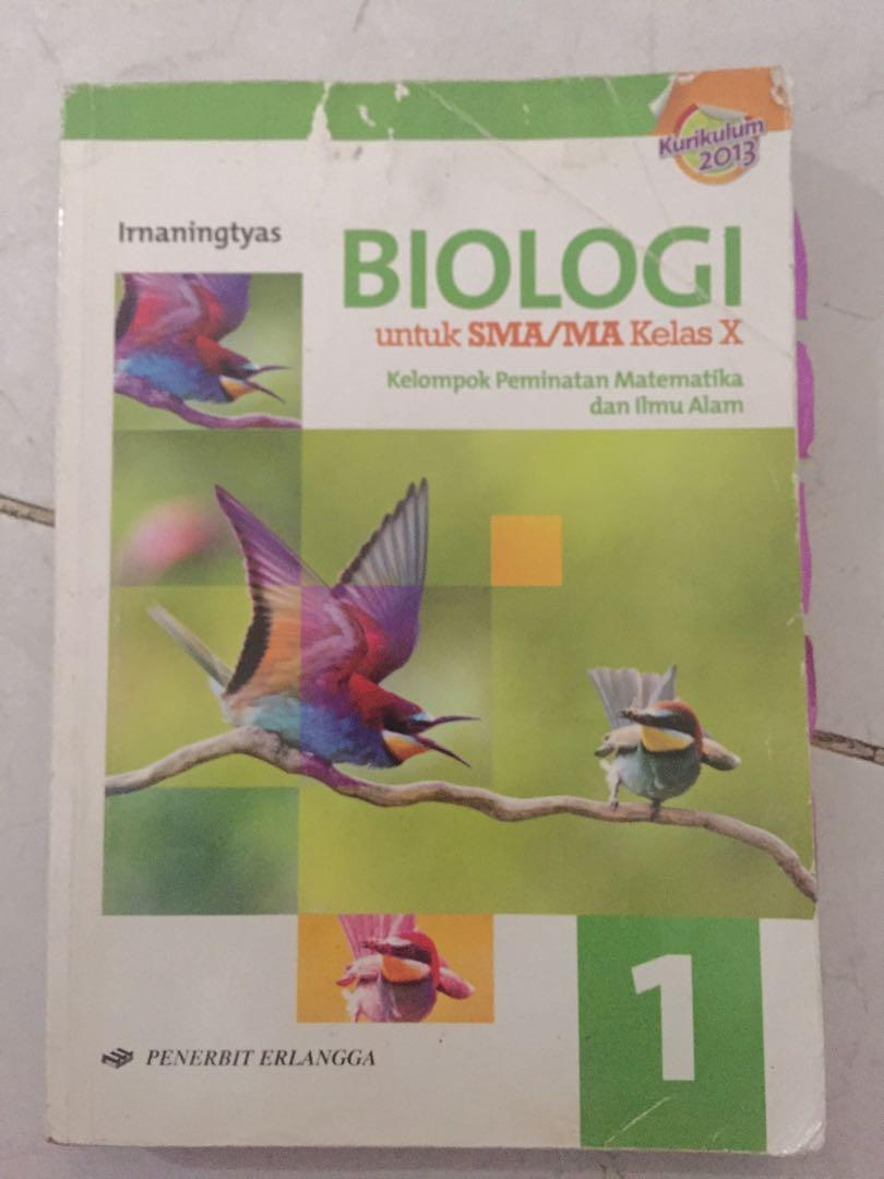 Buku biologi sma kelas 10