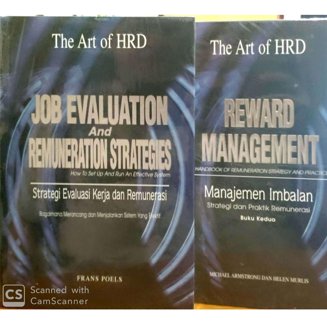 Buku The Art of HRD edisi 4 Jilid  rare item