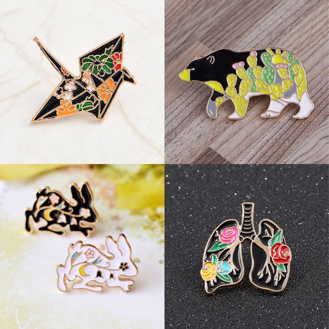 Buy 1 Get 1 Free Enamel Pin! Refer to our FB link for more details! 🙂👇🏼Avail only at Plaza Sing! Only for the 1st 10 customers each month - hurry!!!