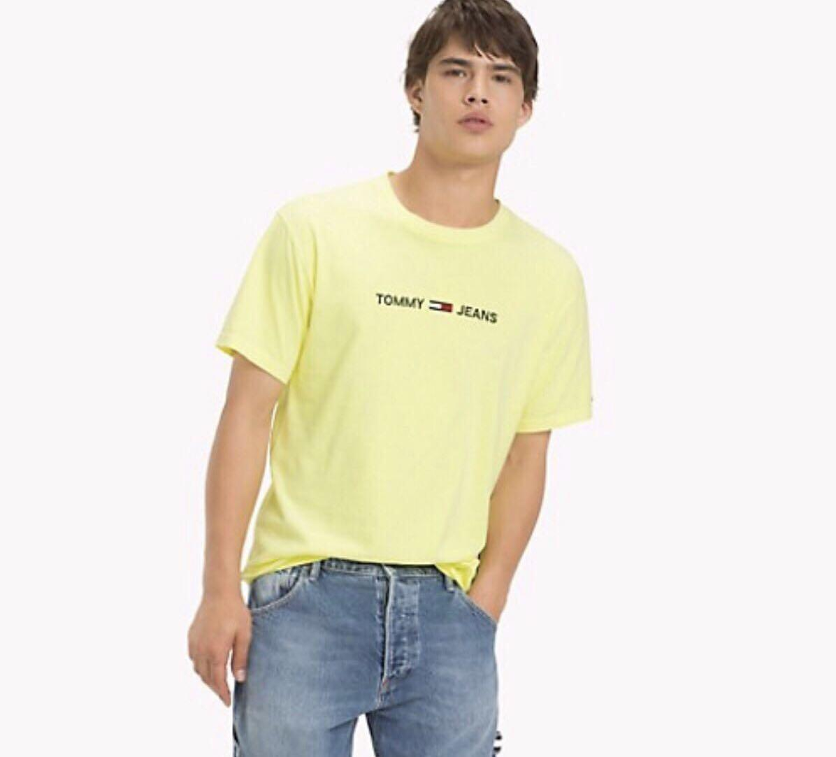 🚨CLEARANCE🚨Tommy Jeans In Yellow