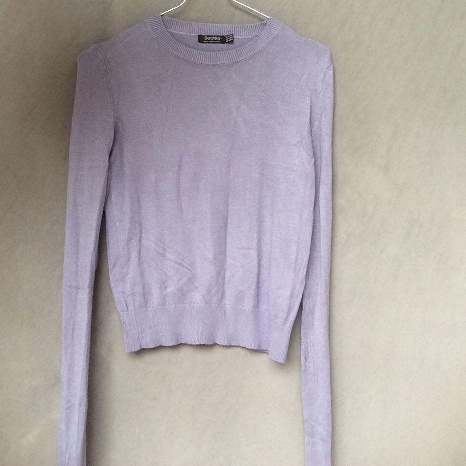 crop sweater by bershka