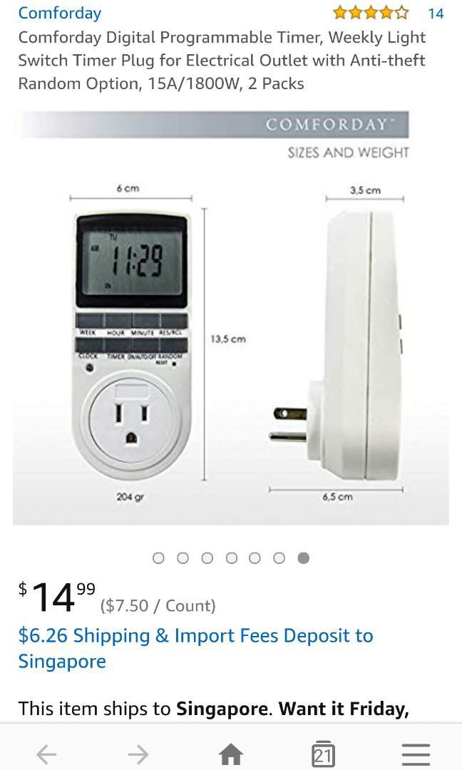 Digital Timer Plug