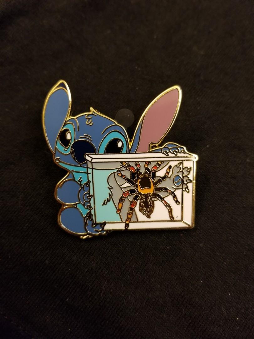 迪士尼史迪仔徽章襟章disney pin