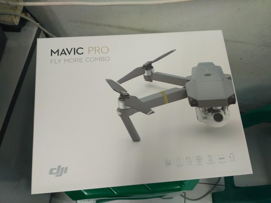 DJI Mavic Pro Combo Drone Kredit Tanpa CC Promo Free 2x Cicil