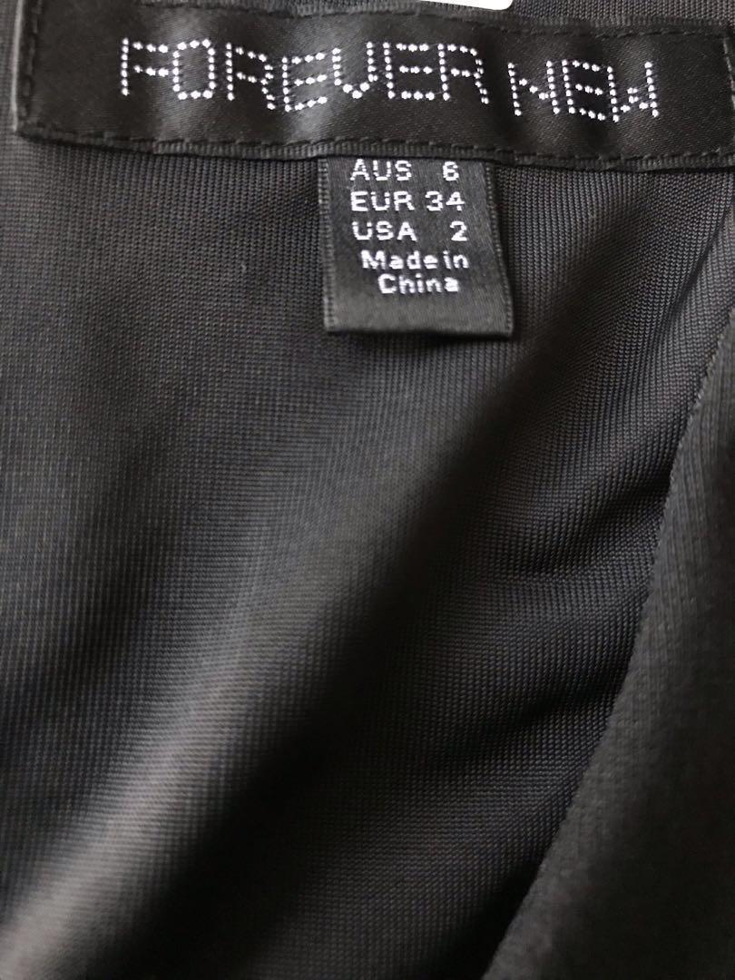 Dress forever new hitam black