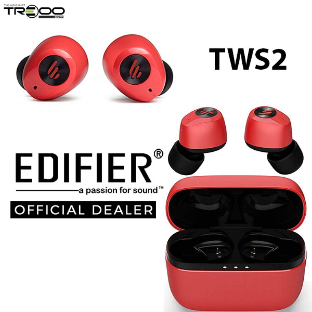 Edifier TWS2 True Wireless In-Ear Earphone with Microphone