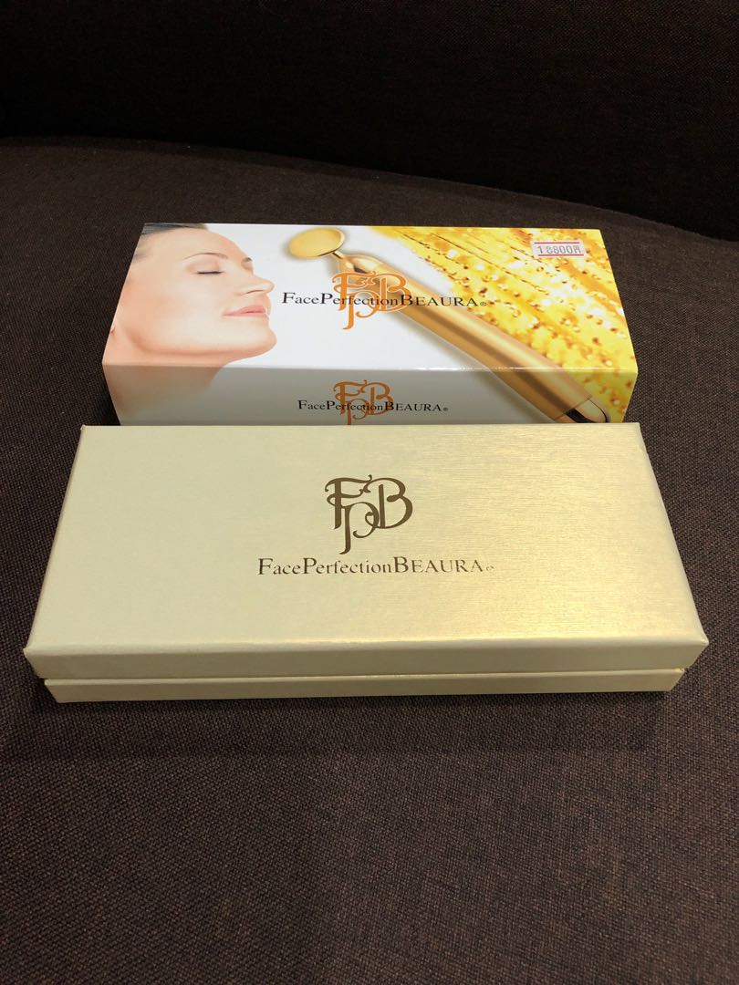 Face Perfection BEAURA 24K Gold Plating Beauty Device