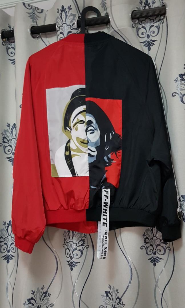 Fashion Jacket Off White inspired