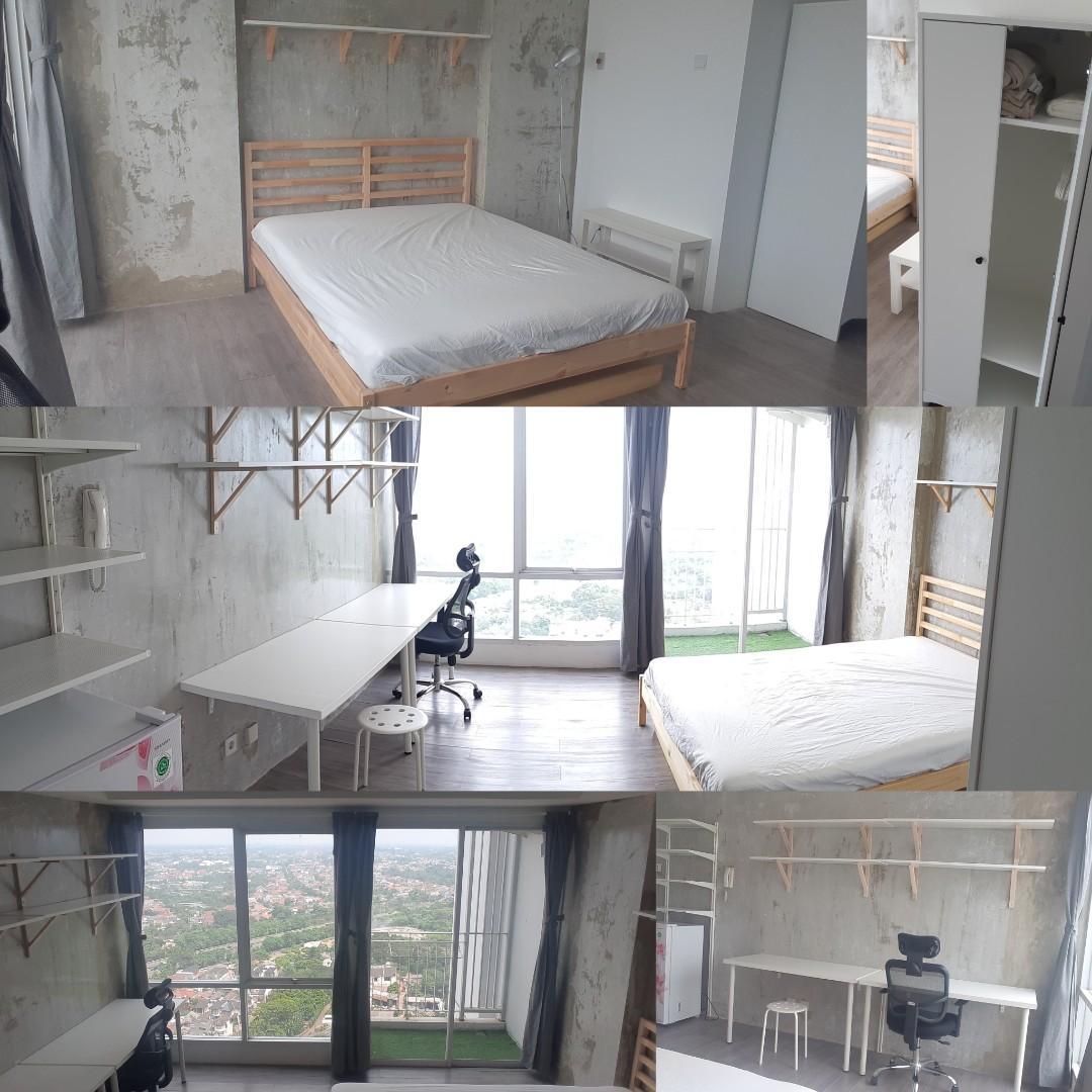 FOR RENT: Furnished Studio Apartment Bintaro Plaza Residence (Altiz)
