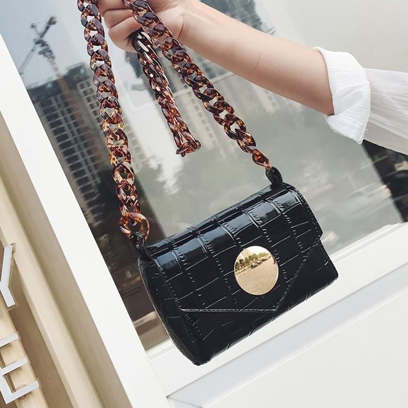 FREE ONGKIR - sling bag + waist bag croco with acrylic strap