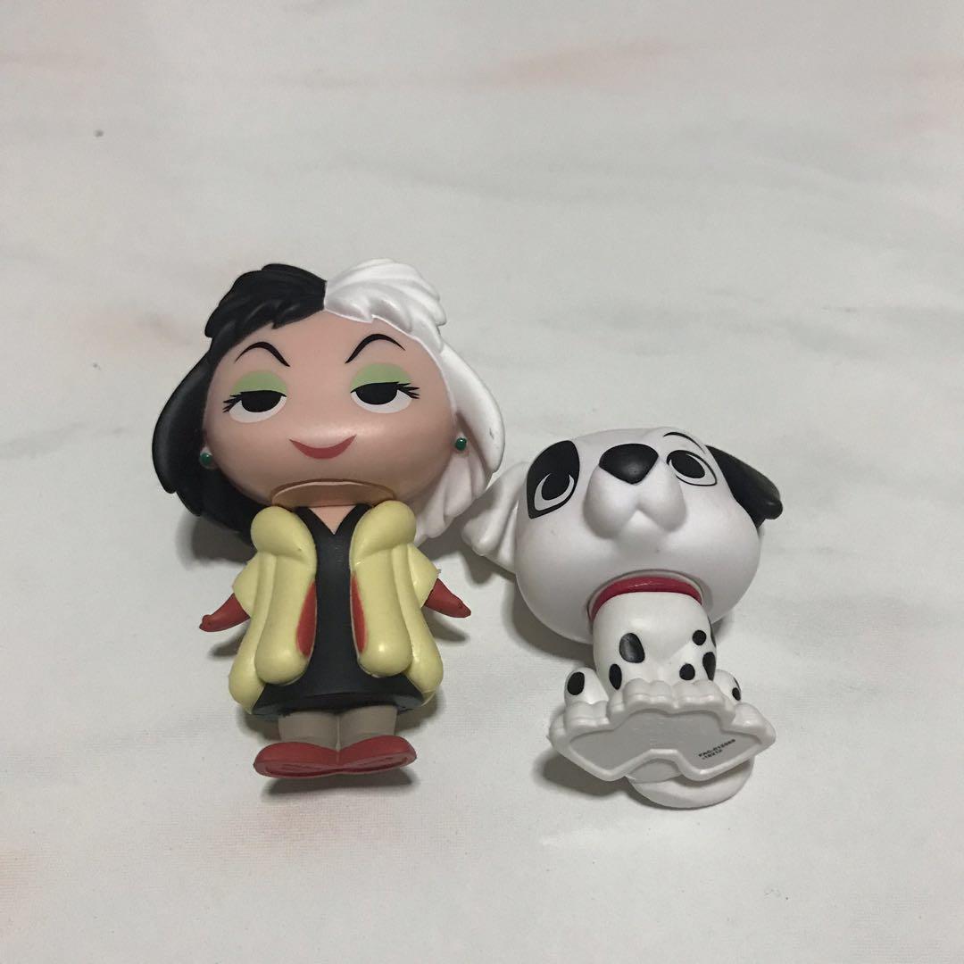 Funko Disney Mystery Mini Cruella De Vil and Patch