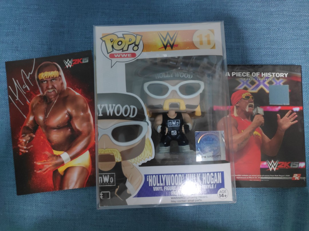 2funko pop hollywood hulk hogan
