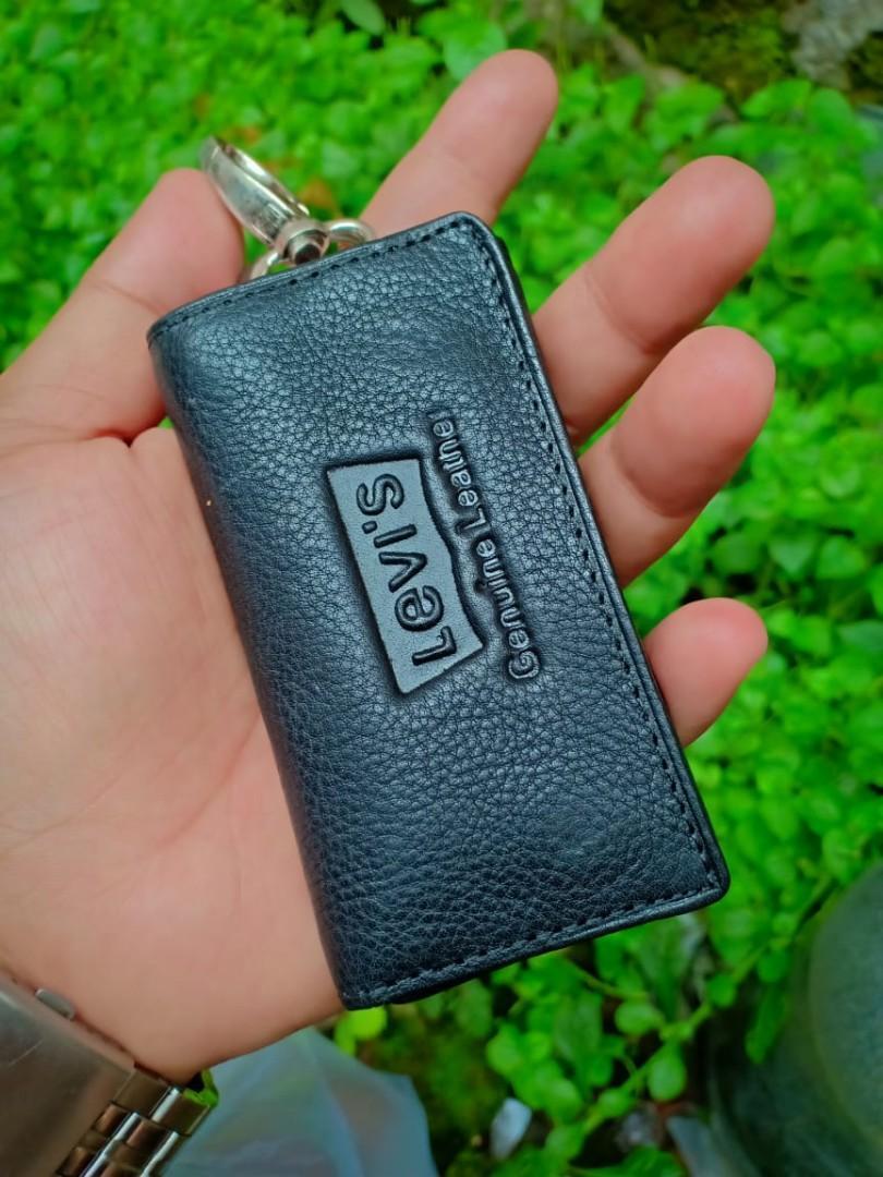 Gantungan Kunci Mobil motor kulit asli