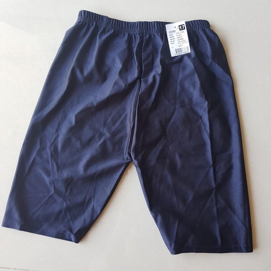 Girl Navy Cycling Shorts