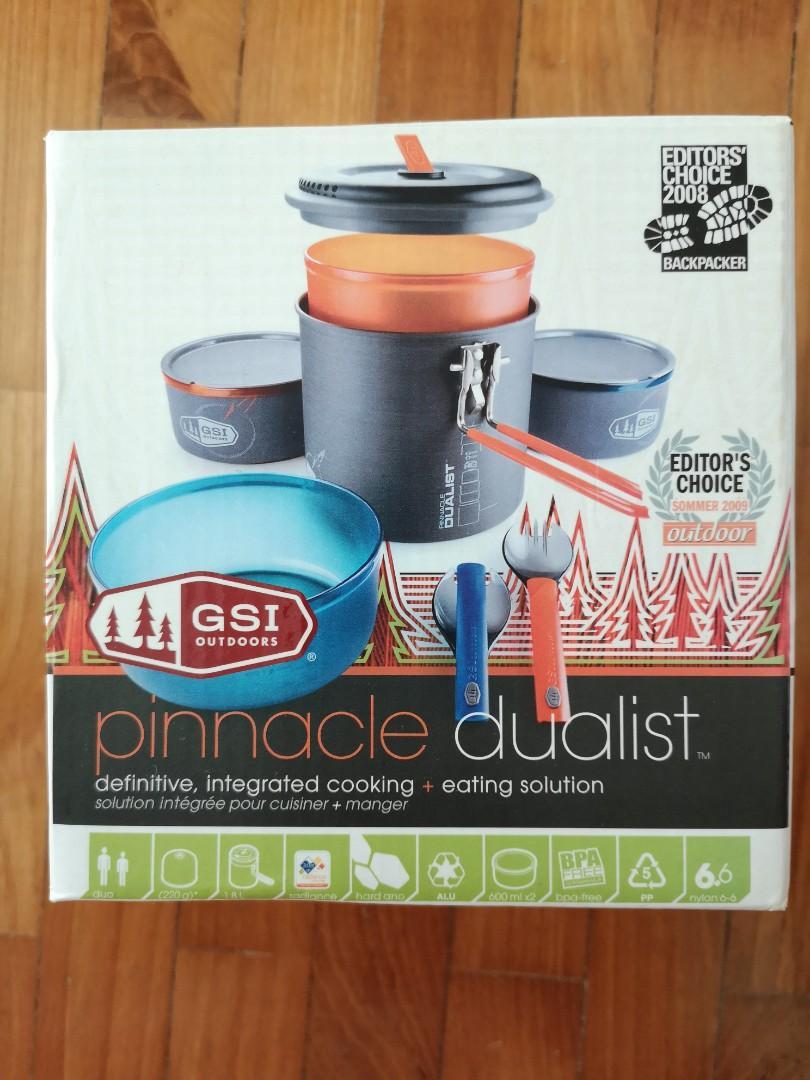 GSI outdoors pinnacle dualist - camping cookset pot