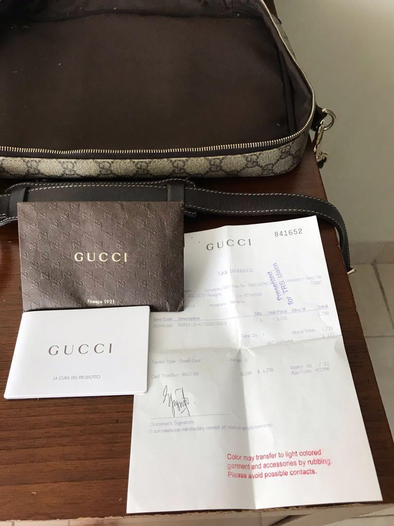 GUCCI - Working Bag
