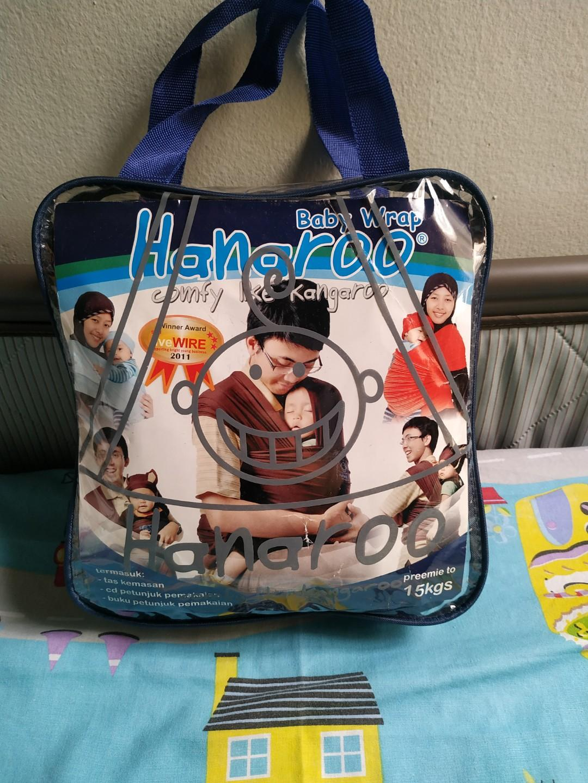 Hanaroo baby wrap denim