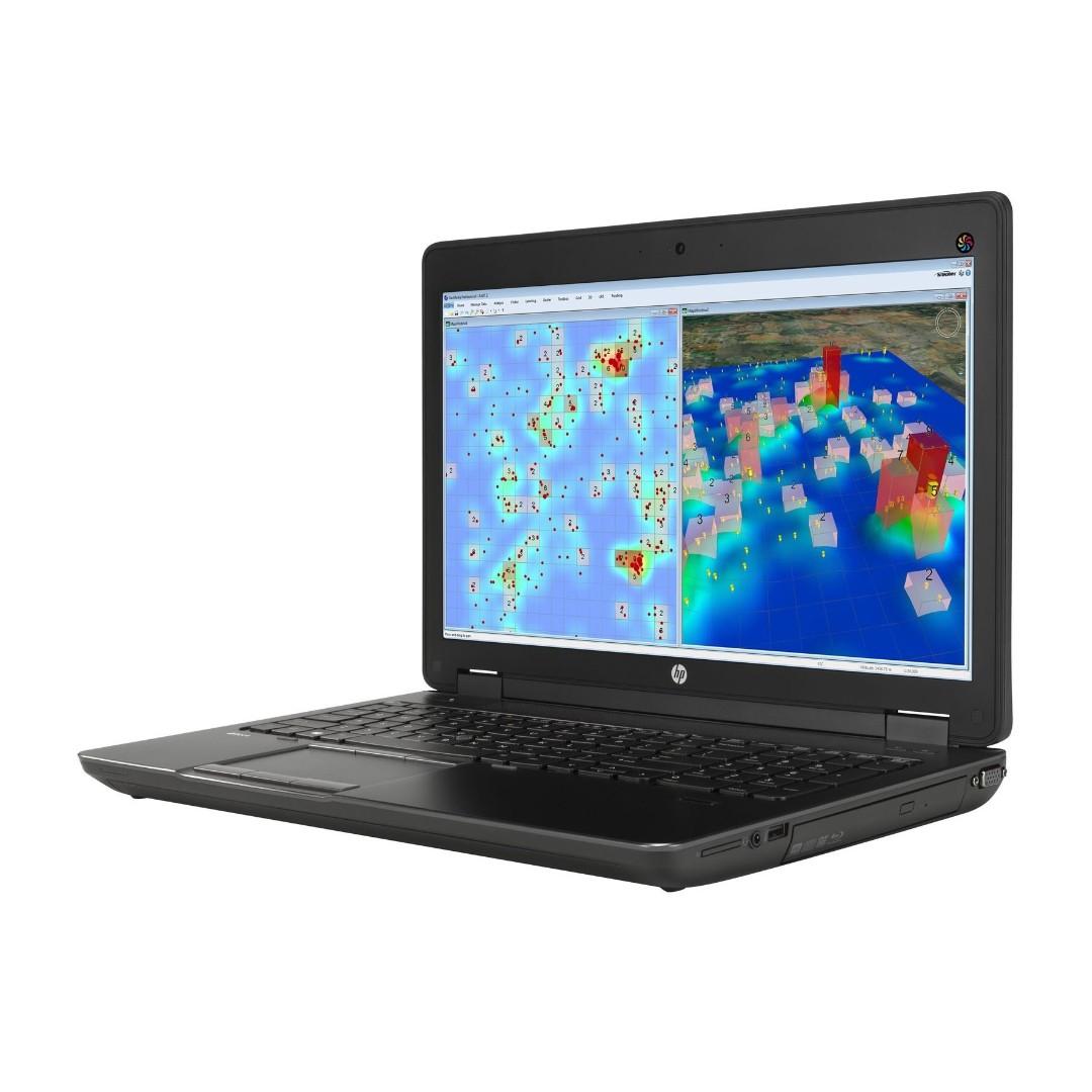 Hp Zbook G2 Mobile Workstation / 15inch LED Laptop /i7-4810MQ #2 8ghz /16gb  Ram/ New 480gb SSD/ Nvidia K2100M 2gb/ Win 10 Pro