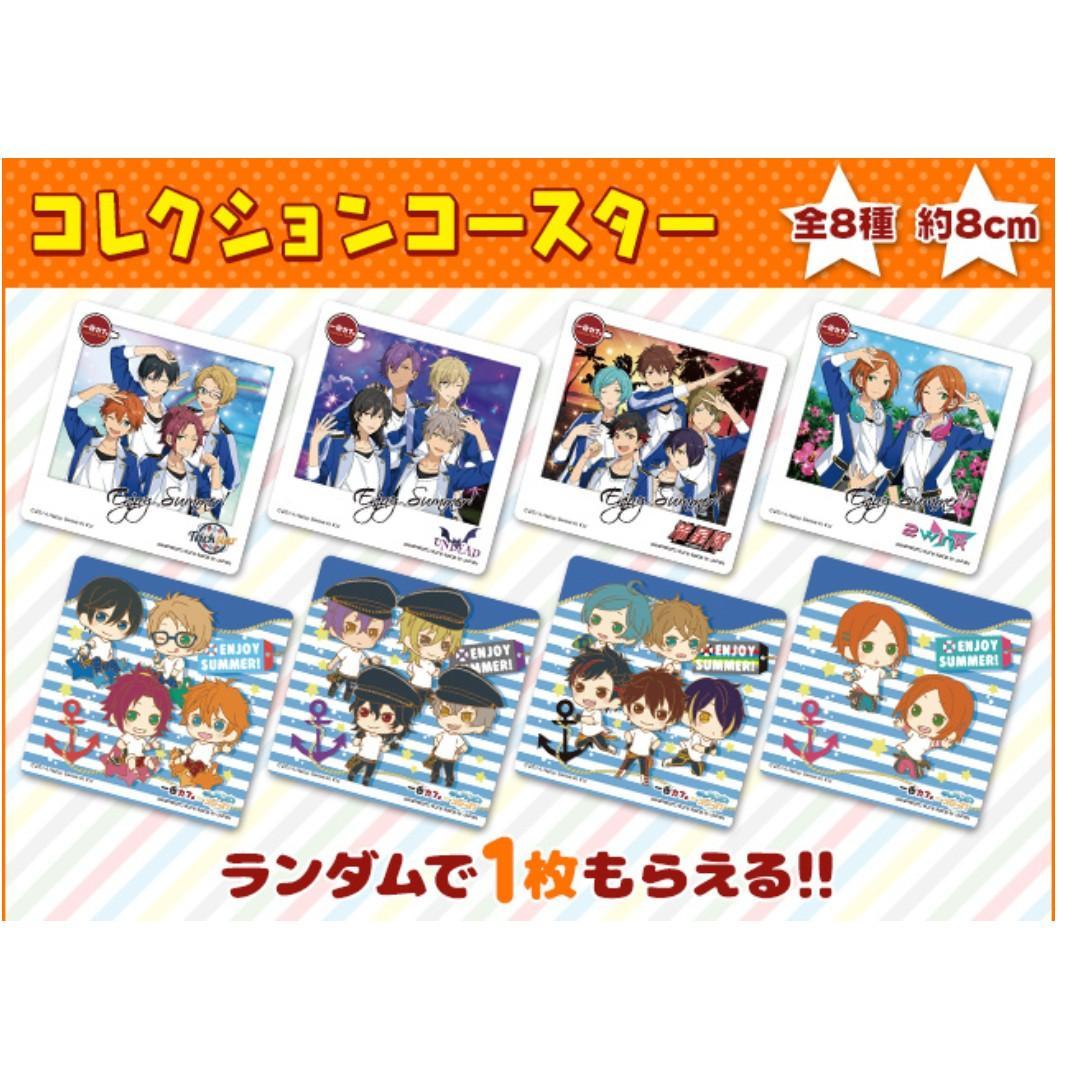Ichiban Cafe x Ensemble Stars! - SD Character - Coaster