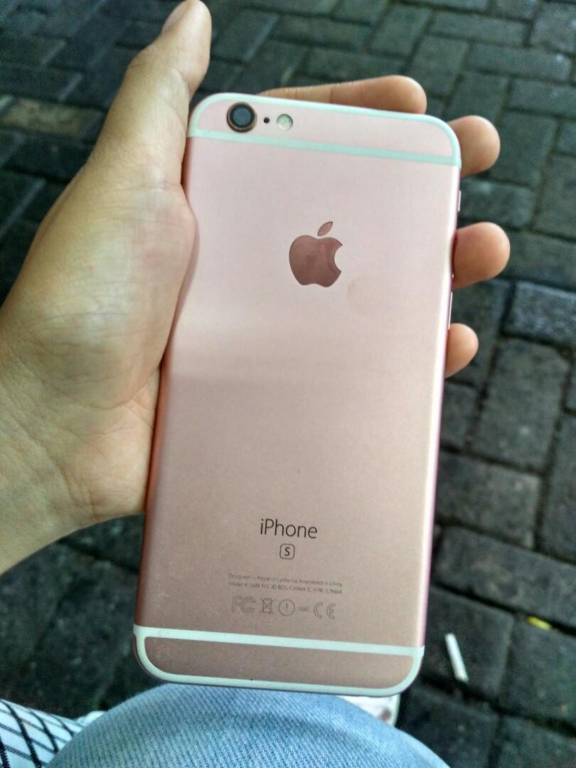 iPhone 6s 64gb RoseGold