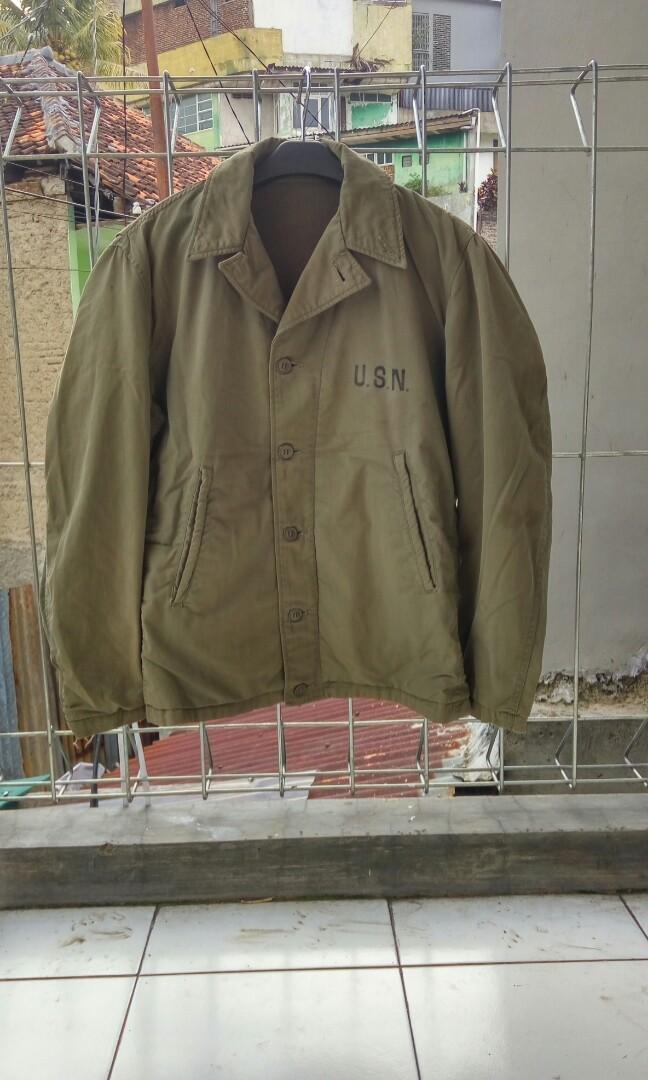 Jaket army n4 deck jacket